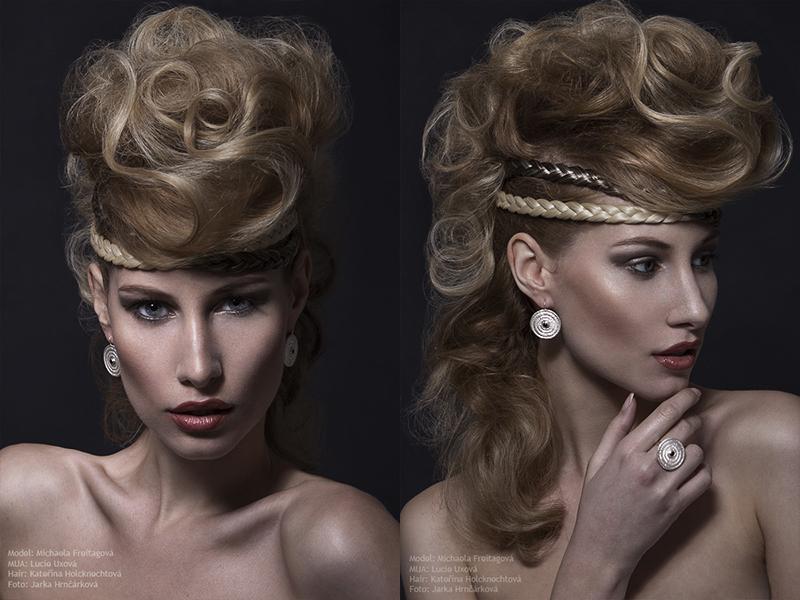 věra nováková michaela freitagová lucie uxová kateřina holcknechotvá fotograf praha focení šperků beauty editoriál beauty  moda