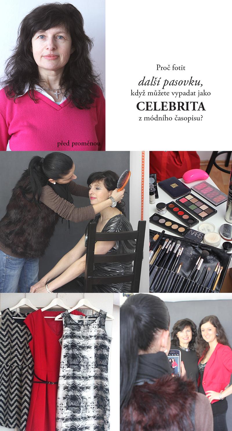 módní portrét jak vypadat krásně na fotkách glamour fotograf praha  modni portret