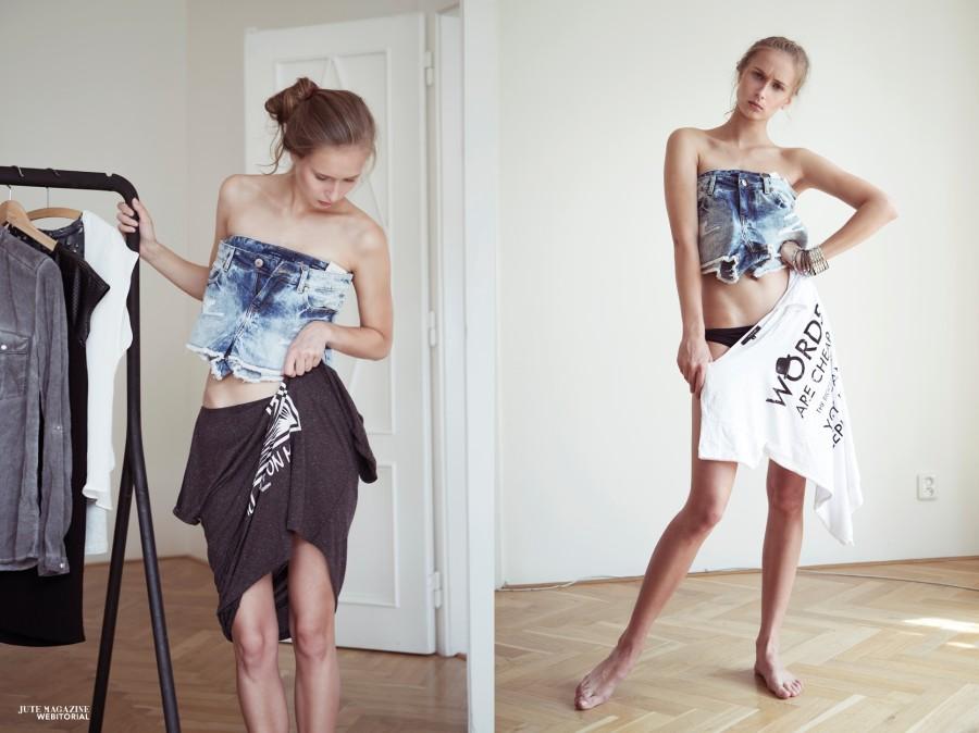 reserved publikace módní fotograf modelka model móda magazín editoriál  moda